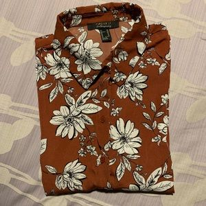 NWT FOREVER 21 Button down collared shirt